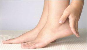 Боль в ступнях ног