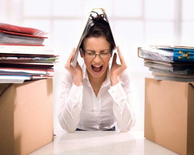 Стресс как причина бессонницы
