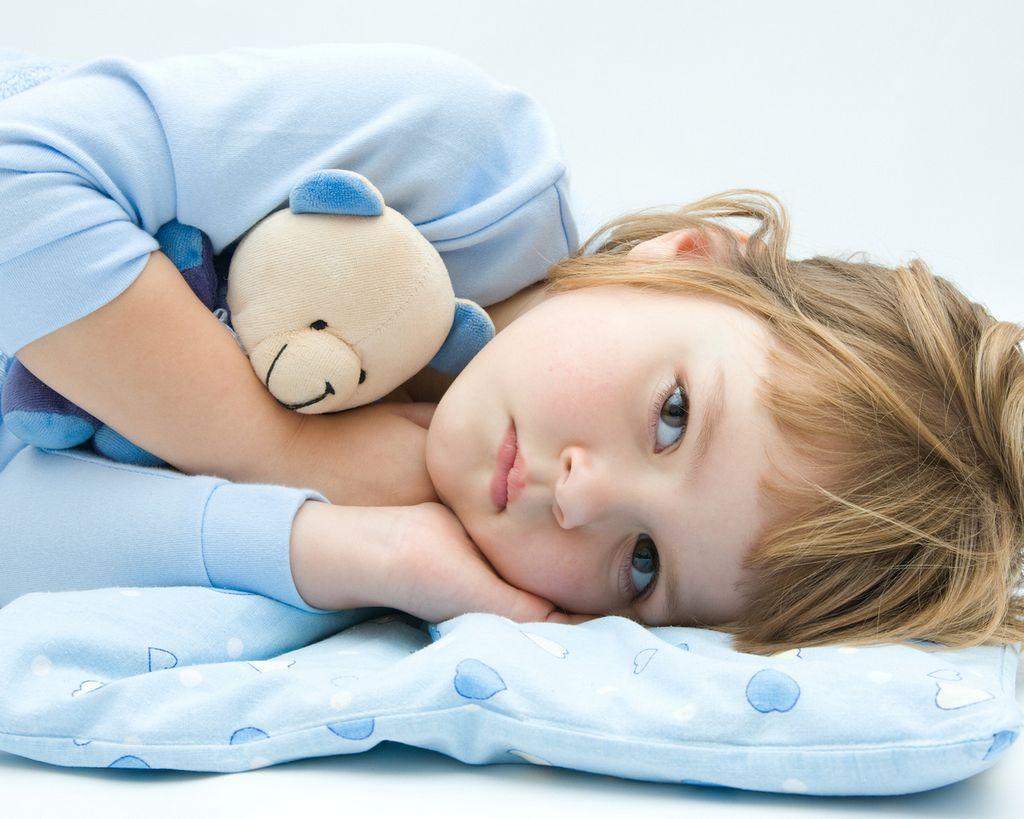 Укладывание ребенка в кровать