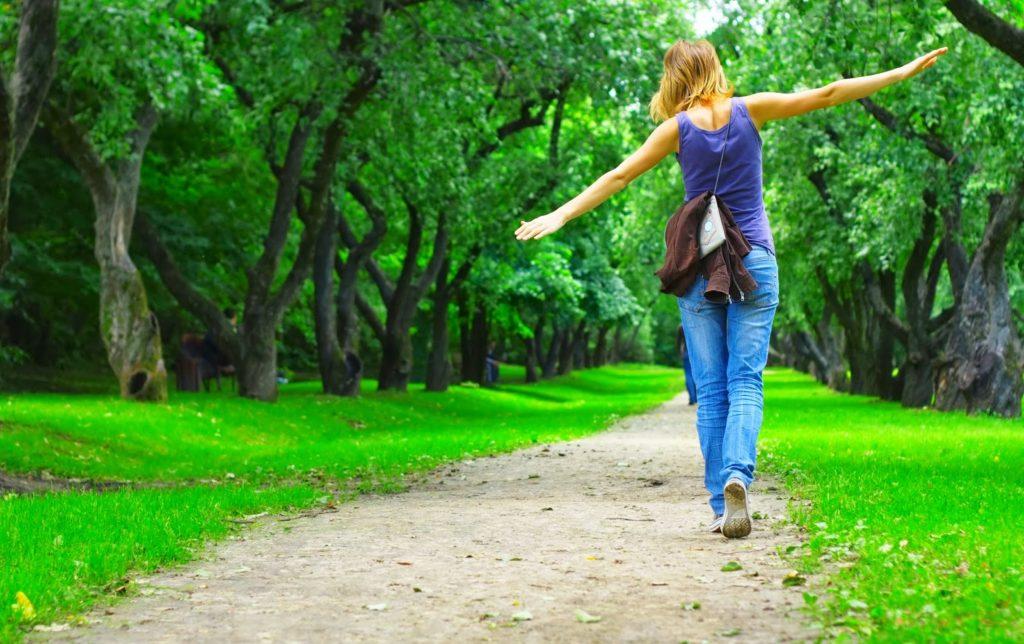 гулять в парке