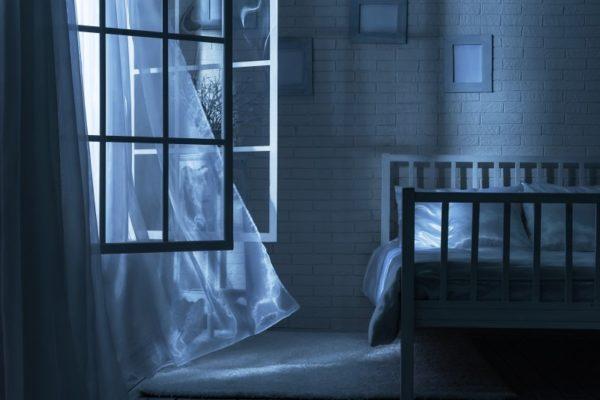 Проветривание комнаты перед сном