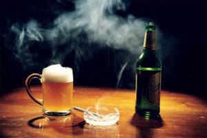 Алкоголизм и курение как причины возникновения апноэ