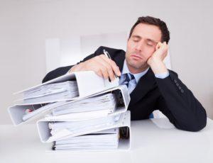 Снижение работоспособности при недосыпании