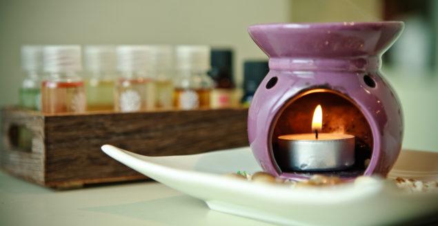 ароматерапия с аромалампой
