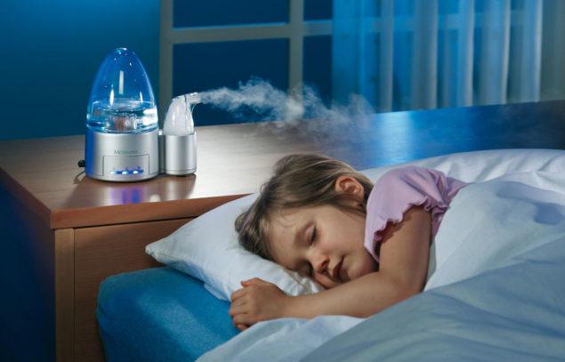 Необходимо следить за температурным режимом и влажностью в детской комнате