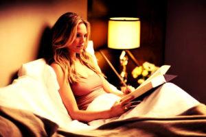 чтение перед сном