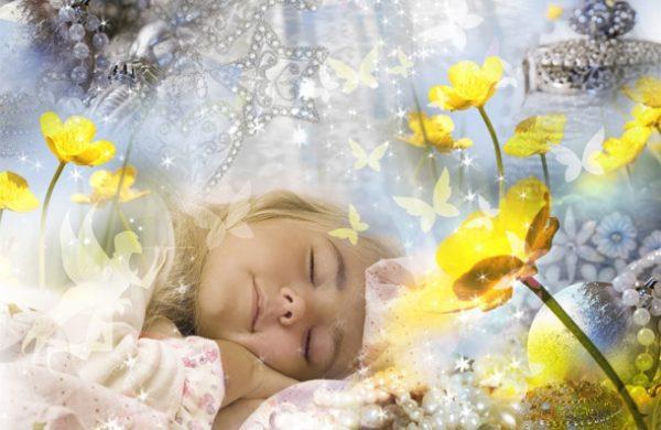 Дети тоже видят яркие сны