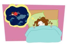 Во время быстрого сна появляются яркие образы