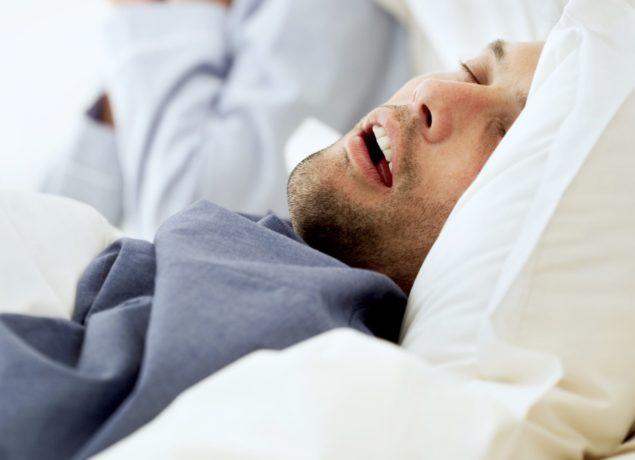 Временные остановки дыхания во время сна