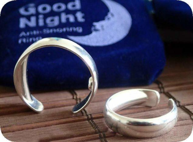 Кольцо Good Night, разработанное на основе древнекитайского метода лечения - акупунктуры