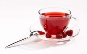 Напиток из малины против СХУ