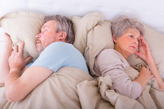 Нарушения дыхания во сне часто связаны с возрастными изменениями