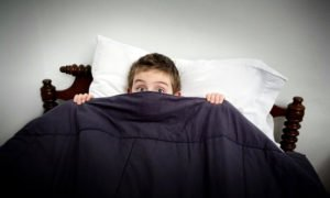 Неправильна организация сна - причина потливости