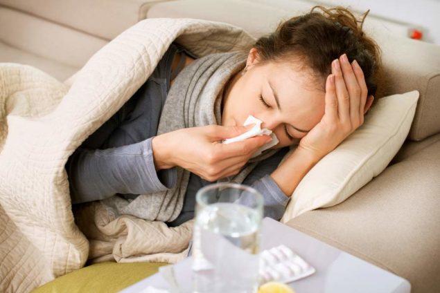 Потение при инфекционном заболевании