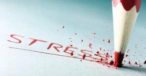 Стресс - одна из причин бессонницы