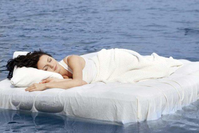 Вреден ли сон на надувной кровати?