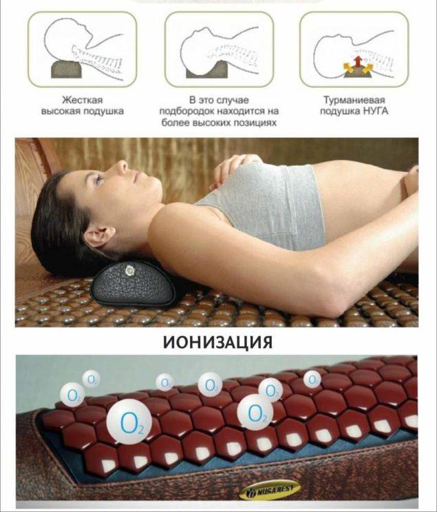Правильное использование подушки