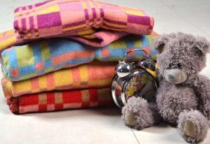 Байковые детские одеяльца