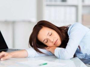 Следствие бессонницы - дневная сонливость