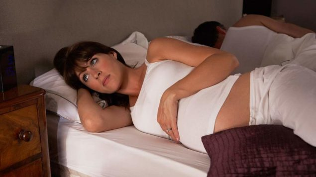 Проблемы со сном в 3-м триместре