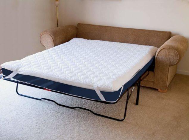 Полиуретановый топпер для дивана
