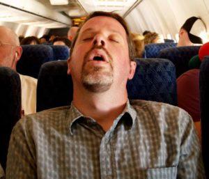 Опасность снотворного во время авиаперелета