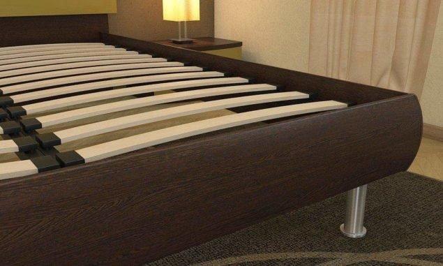 Решетка на кровати