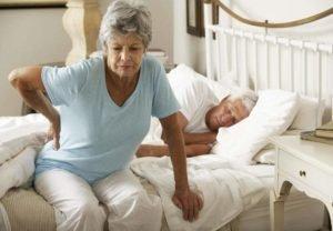 Инсомния, вызванная болями