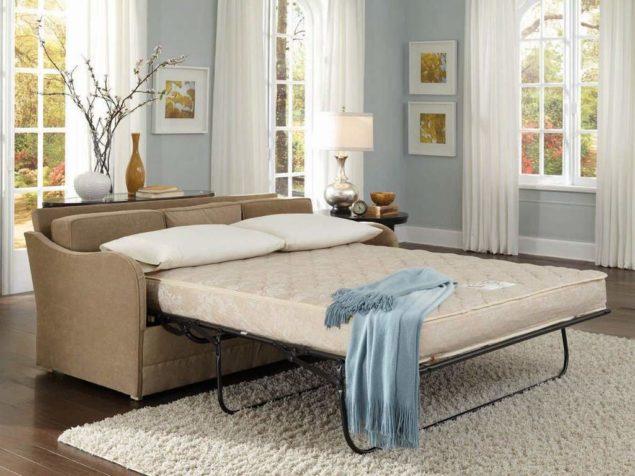 Диван-кровать с анатомическим матрасом