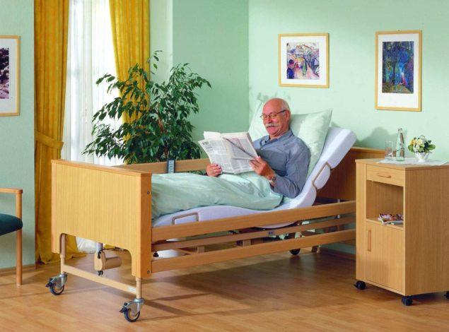 Медицинская ортопедическая кровать