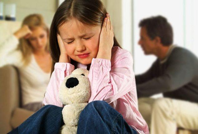 Скандалы при ребенке