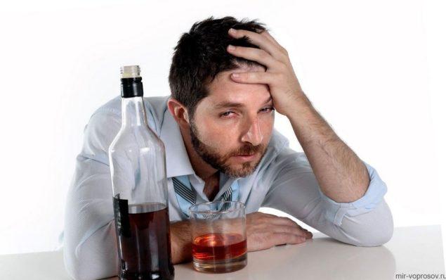 У алкоголиков