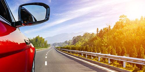 Бежать быстро по дороге