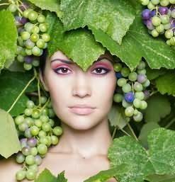 Виноград рассыпался