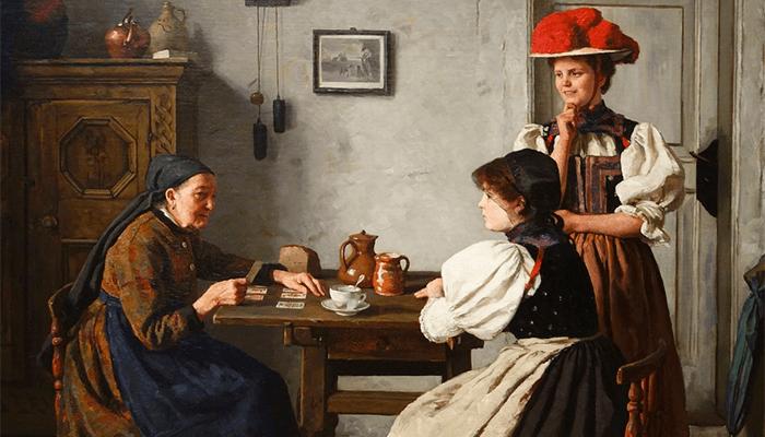 Суженый ряженый — гадание на будущего жениха