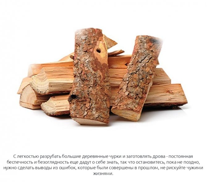 Колотые дрова в машине к чему снятся