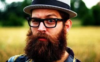 Брить усы и бороду