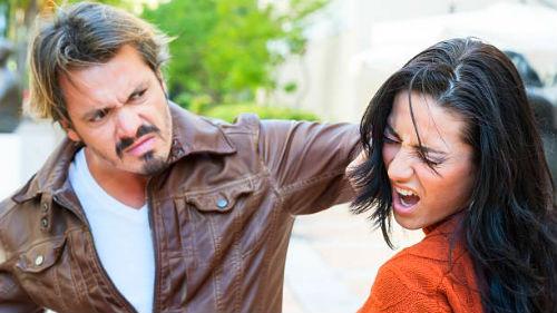 Быть битой мужем