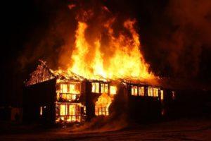 Пожар без огня один дым